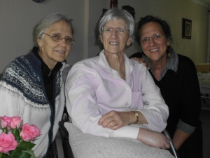 Mom Ruth with sisters, Charlotte and Mary Jane - October 17th, 2013